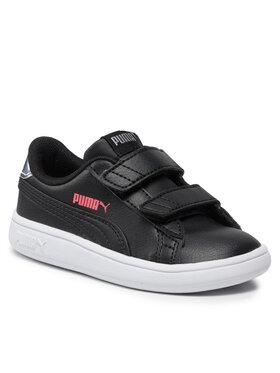 Puma Puma Sneakersy Smash v2 Sl Mtlic V Inf 382377 02 Černá