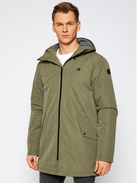 Quiksilver Quiksilver Parka Skyward EQYJK03611 Verde Regular Fit