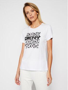 DKNY DKNY T-shirt P0JWTDNA Bijela Regular Fit