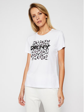 DKNY DKNY T-shirt P0JWTDNA Blanc Regular Fit