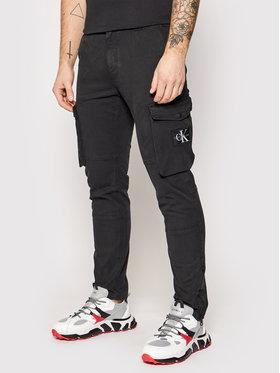 Calvin Klein Jeans Calvin Klein Jeans Hlače J30J318325 Crna Skinny Fit