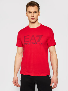 EA7 Emporio Armani EA7 Emporio Armani T-shirt 3KPT81 PJM9Z 1451 Rosso Regular Fit