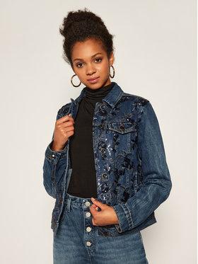 Desigual Desigual Kurtka jeansowa Mex 20WWED53 Granatowy Regular Fit