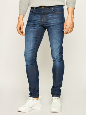 Guess Guess Jeansy Skinny Fit Chris M02A27 D3ZM1 Granatowy Skinny Fit