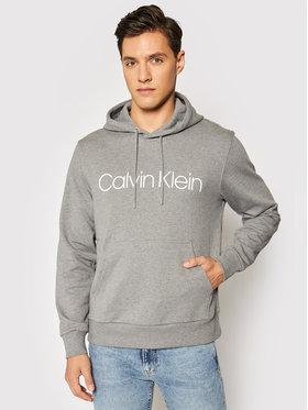 Calvin Klein Calvin Klein Majica dugih rukava Logo K10K104060 Siva Regular Fit