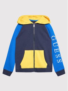 Guess Guess Μπλούζα H1YJ07 KAD70 Σκούρο μπλε Regular Fit