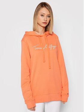 Tommy Hilfiger Tommy Hilfiger Sweatshirt Abo Th Ess WW0WW33100 Orange Regular Fit