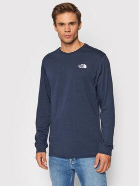 The North Face The North Face Тениска с дълъг ръкав Simple Dome NF0A3L3BH2G1 Тъмносин Regular Fit