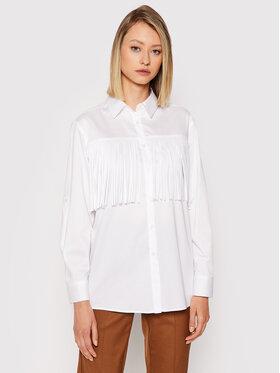 Marella Marella Риза Dorotea 31160617 Бял Regular Fit