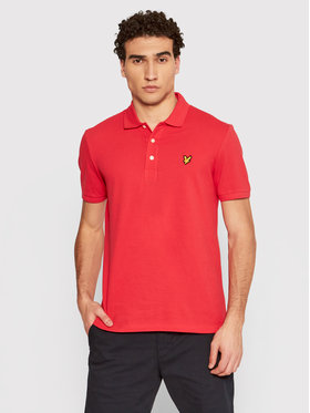 Lyle & Scott Lyle & Scott Pólóing SP400VTR Piros Regular Fit