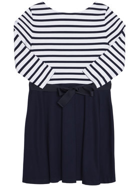Polo Ralph Lauren Polo Ralph Lauren Každodenní šaty Stripe Solid 311720091001 Tmavomodrá Regular Fit