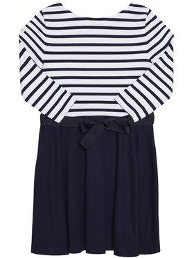 Polo Ralph Lauren Polo Ralph Lauren Sukienka codzienna Stripe Solid 311720091001 Granatowy Regular Fit