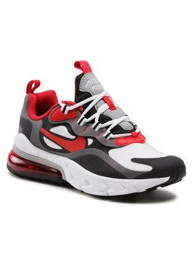 Nike Nike Boty Air Max 270 React (GS) BQ0103 011 Šedá