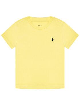Polo Ralph Lauren Polo Ralph Lauren Marškinėliai Ss Cn 323832904021 Geltona Regular Fit