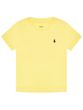 Polo Ralph Lauren Polo Ralph Lauren T-shirt Ss Cn 323832904021 Jaune Regular Fit