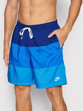 Nike Nike Pantaloncini sportivi Sportswear City Edition CJ4486 Blu scuro Regular Fit
