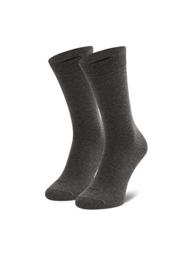Jack&Jones Jack&Jones Vysoké pánske ponožky Jjj Sock Noos 12059471 r.OS Sivá