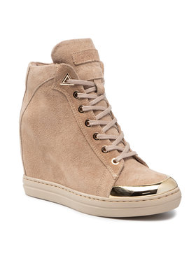 Carinii Carinii Sneakersy B7083 Beżowy