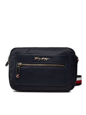 Tommy Hilfiger Tommy Hilfiger Geantă Tommy Fresh Camera Bag Corp AW0AW10214 Bleumarin