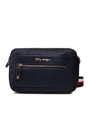 Tommy Hilfiger Tommy Hilfiger Handtasche Tommy Fresh Camera Bag Corp AW0AW10214 Dunkelblau
