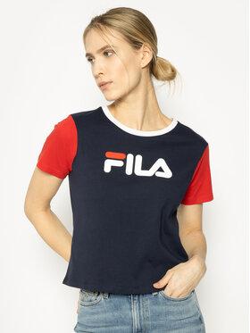 Fila Fila T-Shirt Salome 687614 Dunkelblau Regular Fit