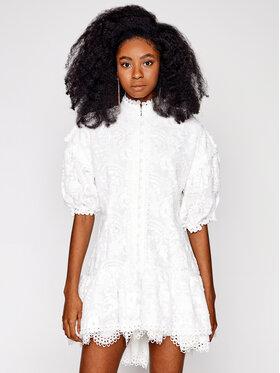 IXIAH IXIAH Коктейлна рокля IX22-80510-B Бял Regular Fit