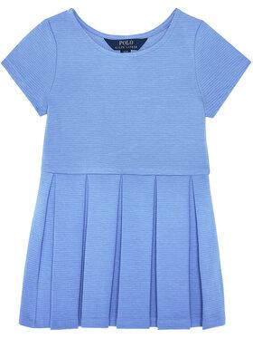 Polo Ralph Lauren Polo Ralph Lauren Φόρεμα καθημερινό Solid Dre 311794817 Μπλε Regular Fit