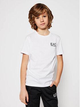 EA7 Emporio Armani EA7 Emporio Armani T-Shirt 6HBT51 BJ02Z 1100 Weiß Regular Fit