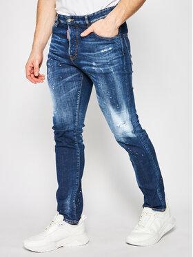 Dsquared2 Dsquared2 Blugi Skinny Fit Sexy Mercury S74LB0672 Albastru Skinny Fit