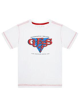 Guess Guess T-Shirt N1YI01 K8HM0 Λευκό Regular Fit