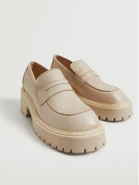 Mango Mango Pantofi Prieto 17095939 Bej