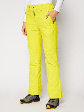CMP CMP Spodnie narciarskie 3W20636 Żółty Regular Fit