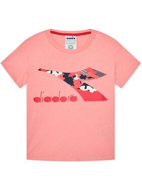 Diadora Diadora Marškinėliai Chromia 102.176488 Rožinė Regular Fit