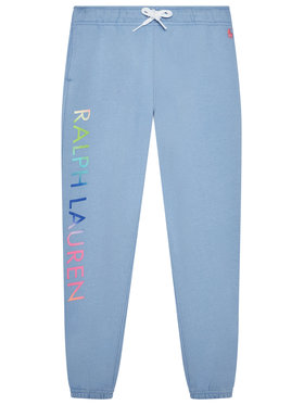 Polo Ralph Lauren Polo Ralph Lauren Teplákové kalhoty 313841396001 Modrá Regular Fit