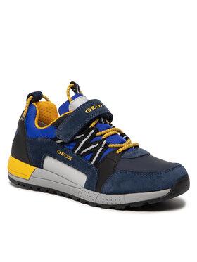 Geox Geox Sneakersy J Alben Boy A J169EA 022FU C0657 S Granatowy