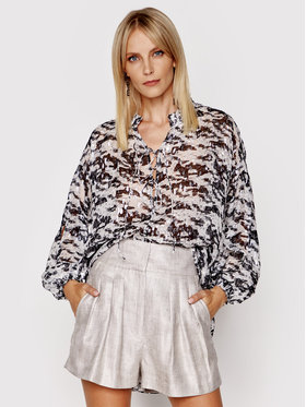 IRO IRO Блуза Sella A0548 Бял Relaxed Fit