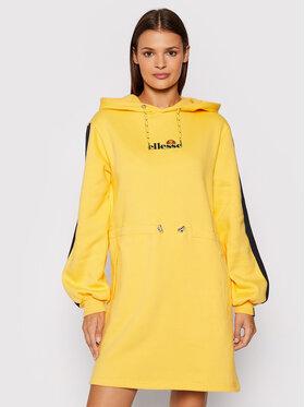 Ellesse Ellesse Sukienka codzienna SGK12174606 Żółty Regular Fit