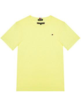 TOMMY HILFIGER TOMMY HILFIGER Marškinėliai Essential Cttn Tee KB0KB05838 D Geltona Regular Fit