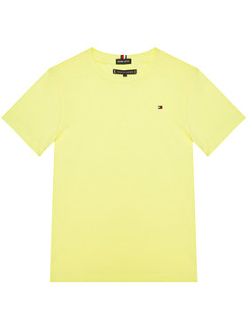 TOMMY HILFIGER TOMMY HILFIGER T-Shirt Essential Cttn Tee KB0KB05838 D Gelb Regular Fit