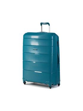 Puccini Puccini Nagy kemény borítású bőrönd Bahamas PP016A 5A Zöld