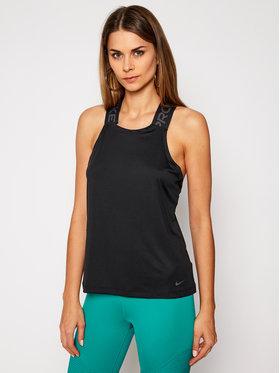 Nike Nike Тениска от техническо трико Nike Pro CJ4089 Черен Standard Fit