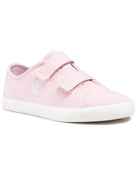 Timberland Timberland Sneakers aus Stoff Newport Bay TB0A2D2HX821 Rosa