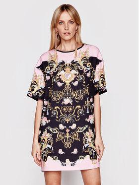 Versace Jeans Couture Versace Jeans Couture Sukienka codzienna D2HWA404 Kolorowy Regular Fit