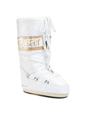 Moon Boot Moon Boot Śniegowce Mb Classic 50 Croccodile 14025600002 Biały