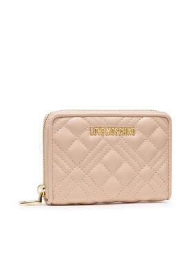 LOVE MOSCHINO LOVE MOSCHINO Veľká dámska peňaženka JC5602PP1DLA0107 Béžová