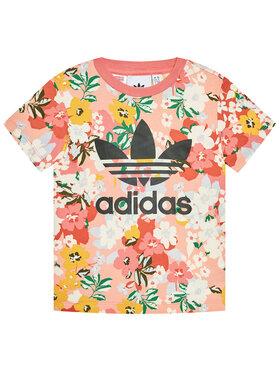 adidas adidas Marškinėliai HER Studio London Floral GN2262 Spalvota Regular Fit