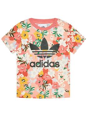 adidas adidas T-Shirt HER Studio London Floral GN2262 Barevná Regular Fit