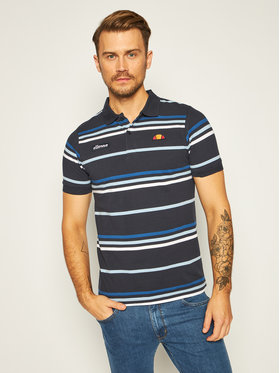 Ellesse Ellesse Polo Lewoodio SHE08519 Granatowy Classic Fit