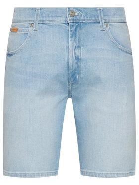 Wrangler Wrangler Jeansshorts Texas W11CZH280 Blau Slim Fit
