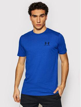 Under Armour Under Armour T-Shirt Ua Sportstyle Left Chest 1326799 Niebieski Loose Fit
